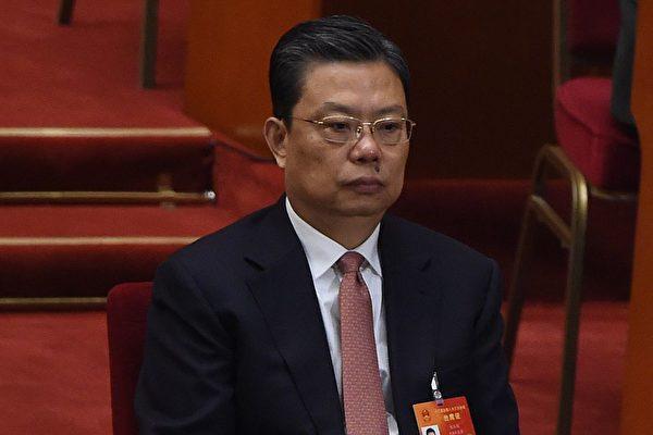 中共政治局常委、中紀委書記趙樂際最近一個月鮮少露面,引關注。(WANG ZHAO/AFP/Getty Images)