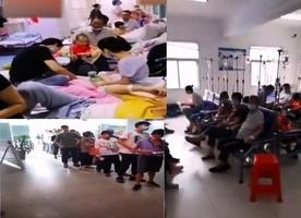 【影片】洪災後 安徽壽縣保義鎮近五百人發燒等