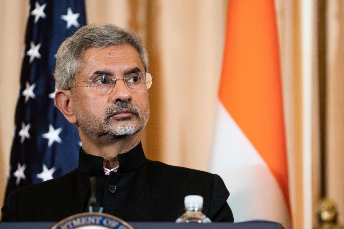 圖為印度外交部長蘇傑生(Subrahmanyam Jaishankar)。(攝於2019年12月18日)(ALEX EDELMAN/AFP via Getty Images)