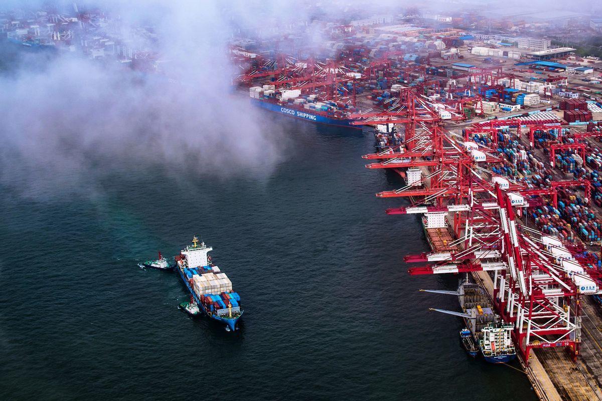 中美貿易戰升級後,中國以出口為主的中小企業面臨更大困境。圖為示意圖。(Getty Images)