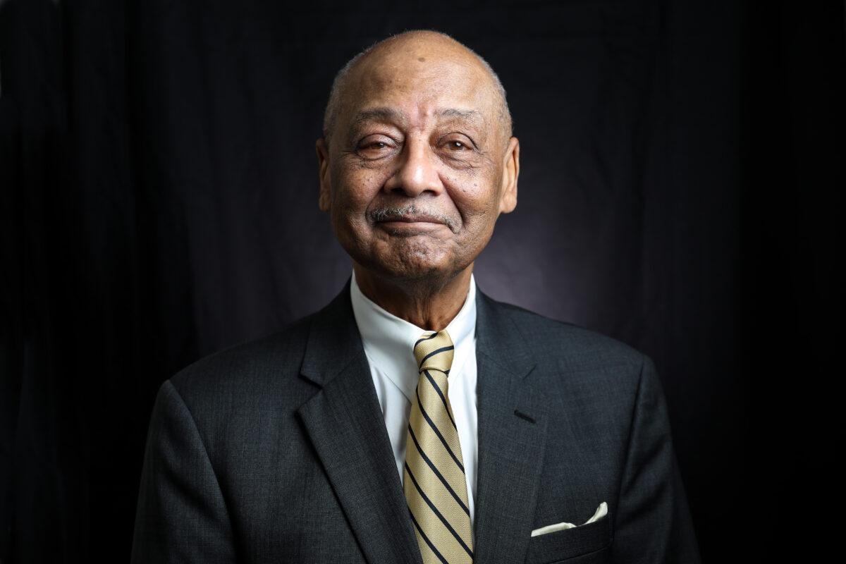 2020年2月18日,華盛頓伍德森中心的創始人兼總裁鮑勃 · 伍德森。(Samira Bouaou/Epoch Times)