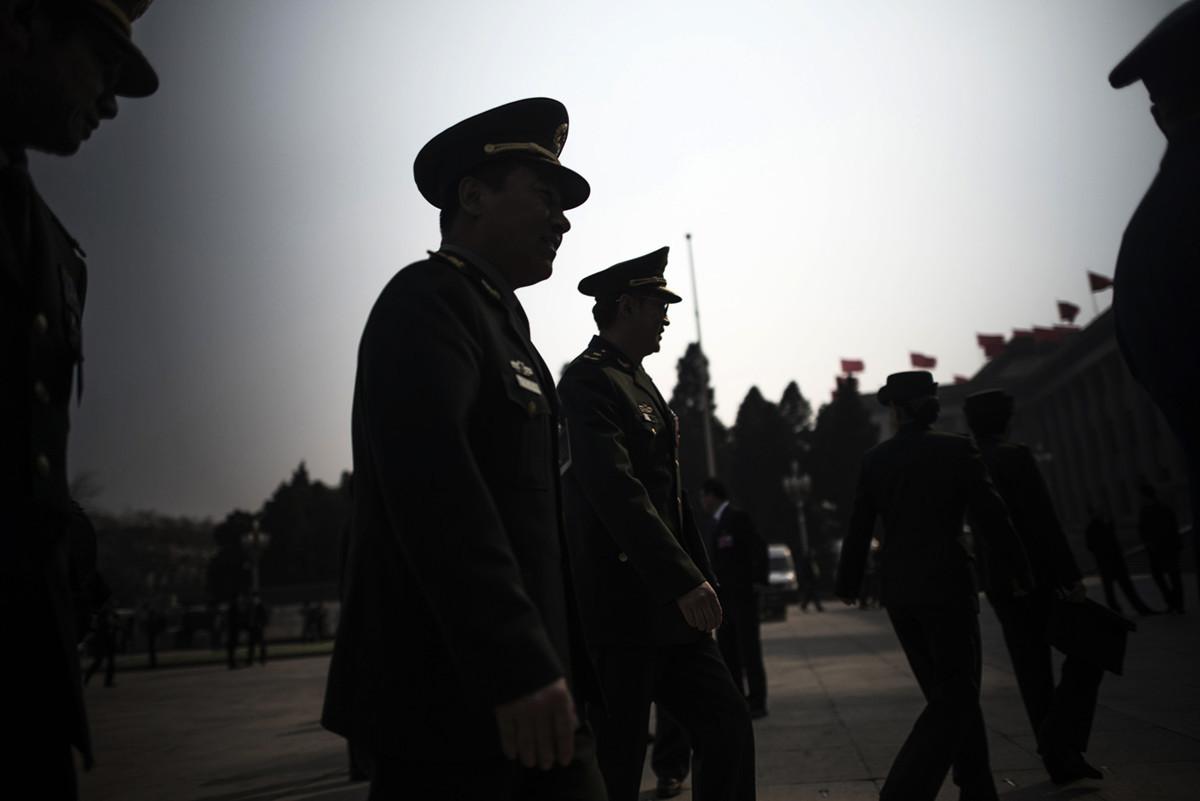 中共的間諜活動主要由中共軍方、國安部和統戰部策劃運作。圖為示意照。(AFP)
