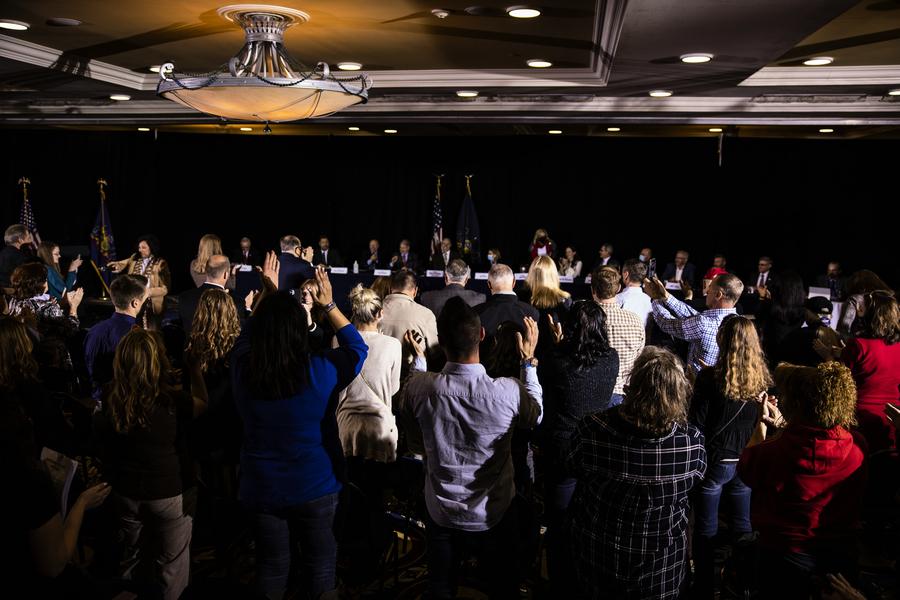 賓夕凡尼亞州議會提決議 要求州長撤銷選舉結果認證
