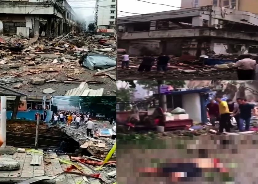 十堰燃氣爆炸12死138傷 引爆網絡 驚動中南海
