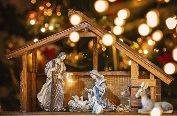 上演聖嬰降生的劇目,是德國聖誕節的傳統之一。(iStock.com/manaemedia)