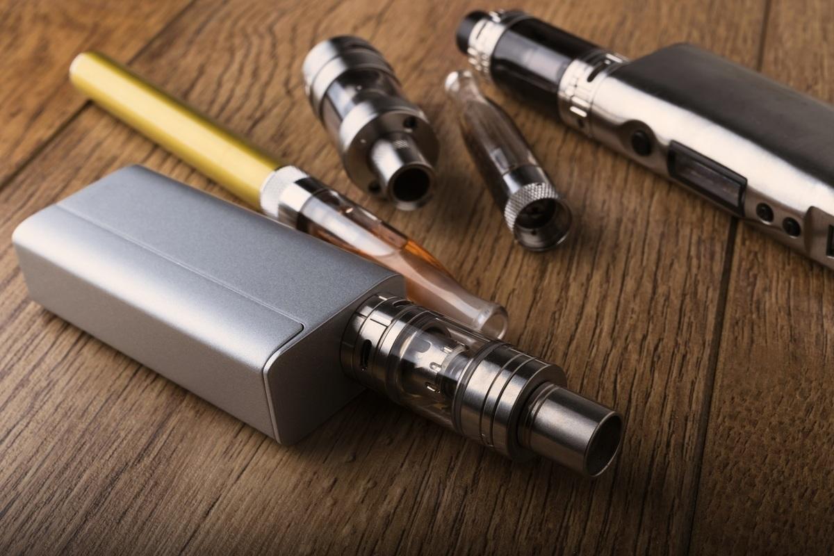 電子煙裝置示意圖。(ShutterStock)
