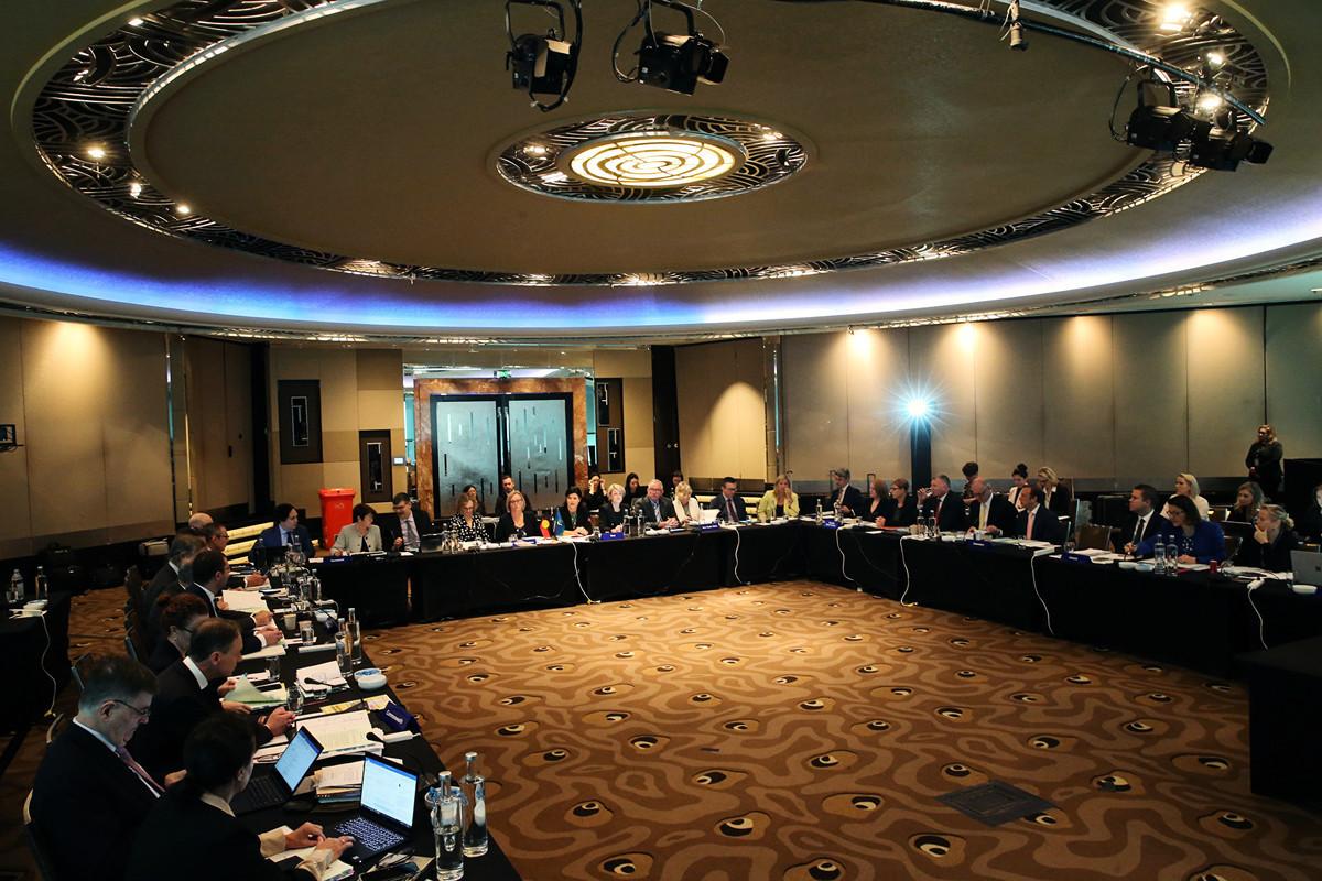 圖為,全澳衛生部門主管在墨爾本開會討論澳洲應如何應對中共病毒(俗稱武漢病毒、新冠病毒)疫情。(AAP)