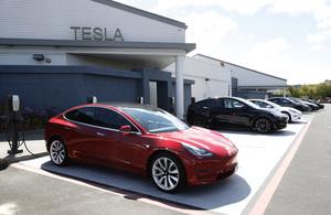 Tesla中國業務受挫 四月銷量暴跌