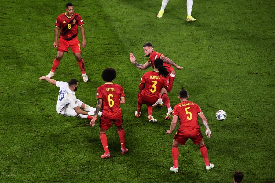 歐國聯準決賽 法國3:2勝比利時(多圖)