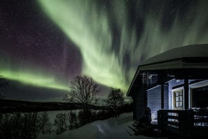 組圖:大自然最絢爛之秀 芬蘭北極光