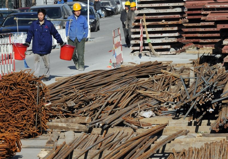 中共當局約談鋼企 鋼材期貨及現貨價紛下跌