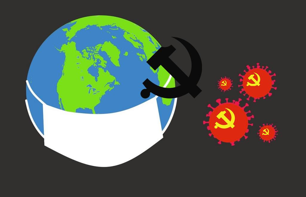 中共病毒席捲全球,引發各國民眾對中共的負面看法比例飆升。(明慧網)