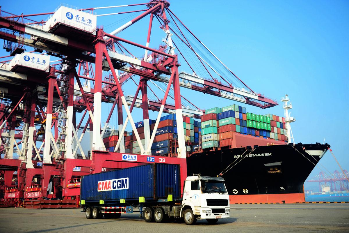 特朗普向政府官員和國會議員明確表示,與中方的貿易戰是一個長期項目。(AFP)