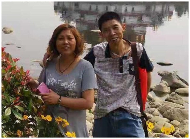 江蘇省無錫市梁溪區訪民王彩霞因上訪被非法拘禁在家,生存權受威脅。(受訪者提供)