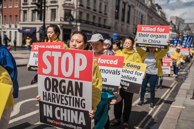 英議會二讀通過「禁止強摘器官共謀」法案