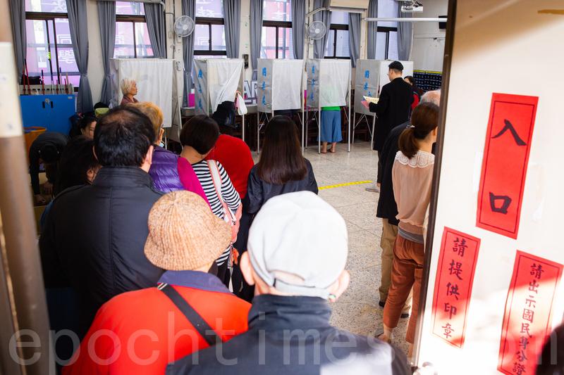 台各地投票所秩序良好 選務改革投票更順暢