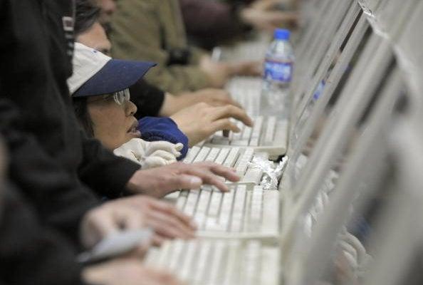 2021年,中國連續第七年在七十多個國家中成為網絡自由情況最差的國家。(LIU JIN/AFP/Getty Images)