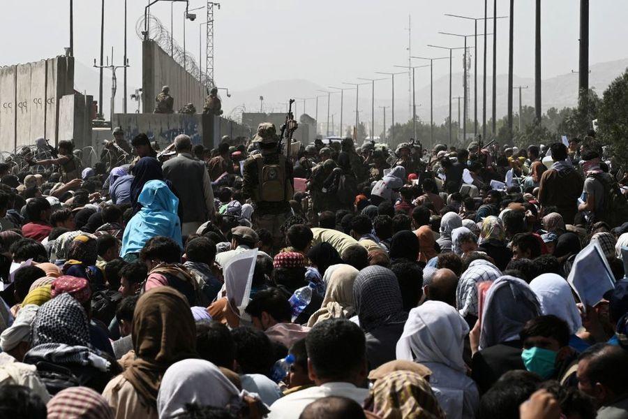 美軍展開行動 出喀布爾機場營救169名美國人