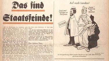 一份1937年版的《黑色軍團》,德國納粹黨衛軍的官方報紙。(公共領域)