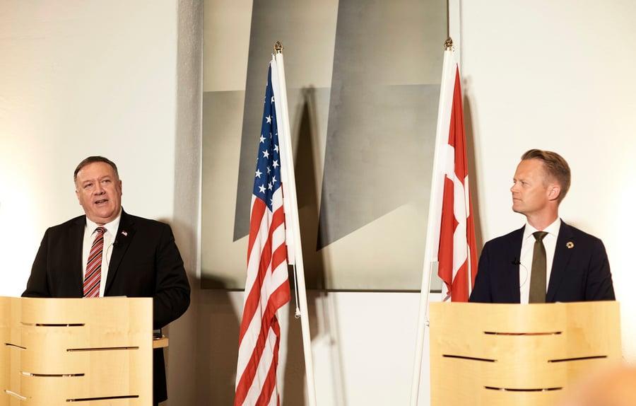 蓬佩奧到訪 專家:丹麥對華政策發生根本變化