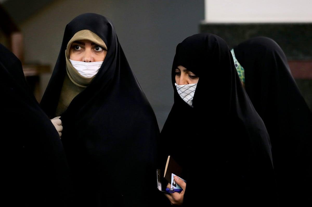 中共肺炎疫情在伊朗急速升溫,多名高官被確診感染。(ATTA KENARE/AFP)