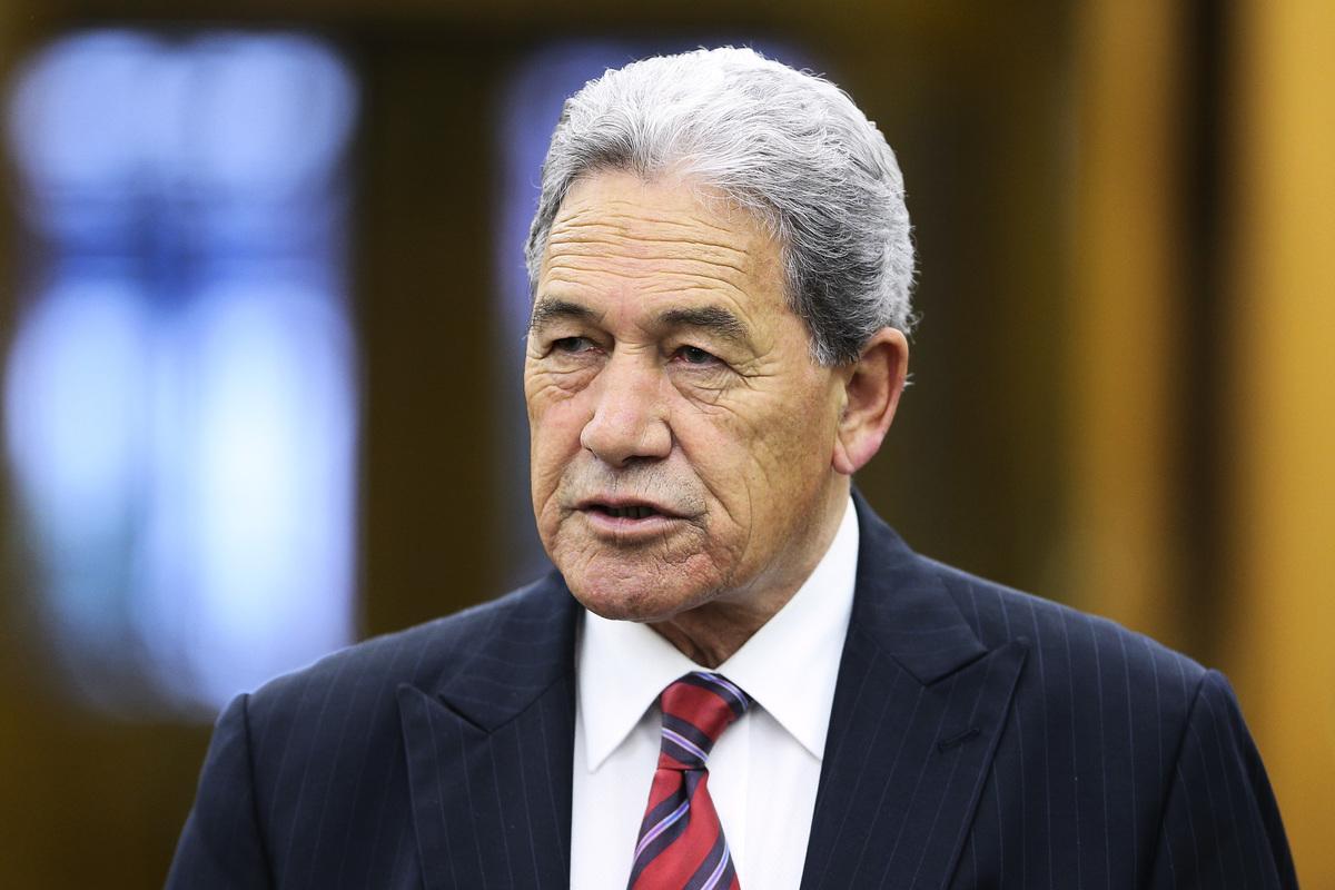 紐西蘭副總理、外交部長Winston Peters。(Hagen Hopkins/Getty Images)