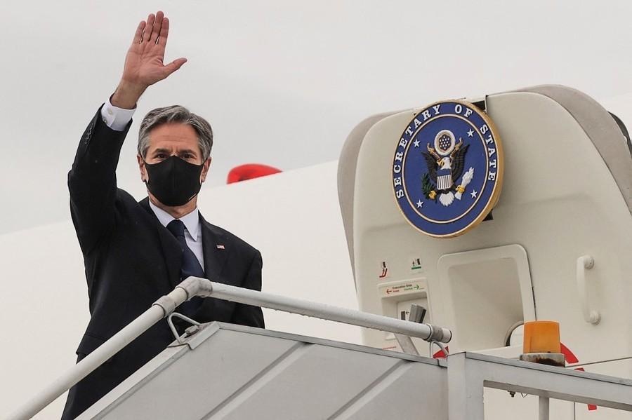 布林肯會見譚德塞 支持在中國再查病毒起源