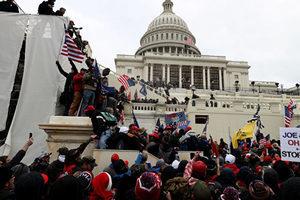 拜登和國會領袖籲特朗普要支持者撤離國會