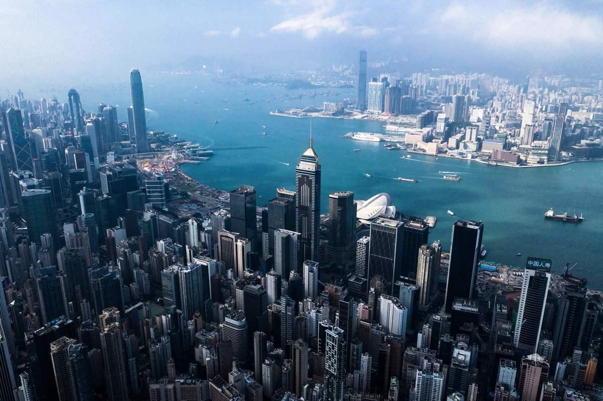 中共強推港版國安法,美國警告,可能會取消香港「獨立關稅區」等特殊待遇。 (Getty Images)