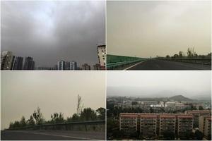 北京遭遇沙塵襲擊 PM10濃度達重度污染