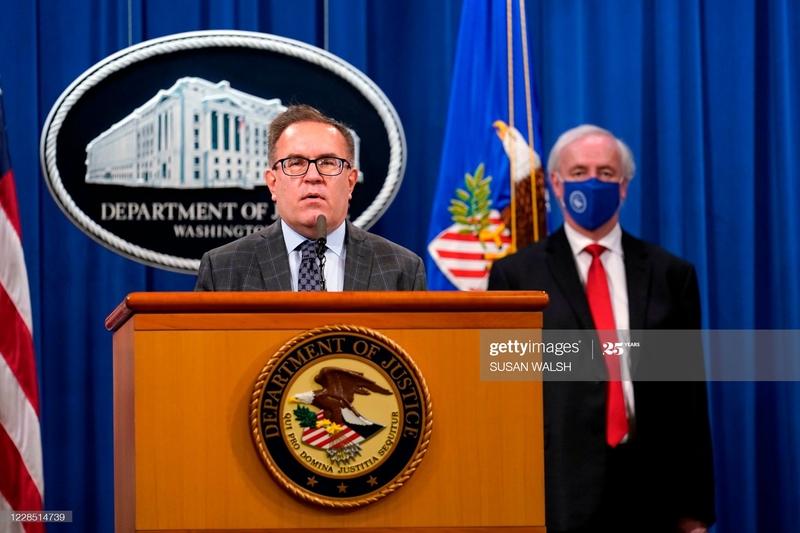 美國環保署長惠勒(Andrew Wheeler)計劃2020年12月率團訪台,是4個月內第3位訪台的美國內閣官員。(SUSAN WALSH/POOL/AFP via Getty Images)