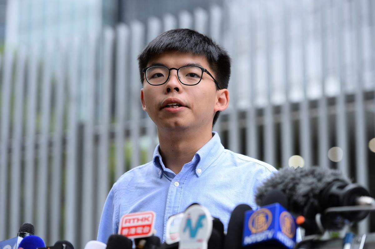 對於香港泛民主派在地方區議會選舉中大獲全勝,香港眾志秘書長黃之鋒認為,這次選舉無疑是一里程碑,也希望「從地區開始奪回香港」。圖為資料照。(宋碧龍/大紀元)