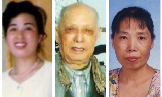 (從左至右)北京懷柔縣醫院急診護士劉小傑遭冤判7年,解放軍總醫院院長李其華被施壓、監控,中醫醫師杜鵑被迫害致死。(大紀元合成圖)