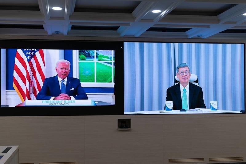 拜登召開防疫峰會 台灣前副總統受白宮邀請致詞