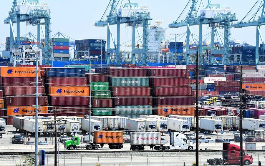 全美最大港口爆疫情 近700碼頭工人染疫