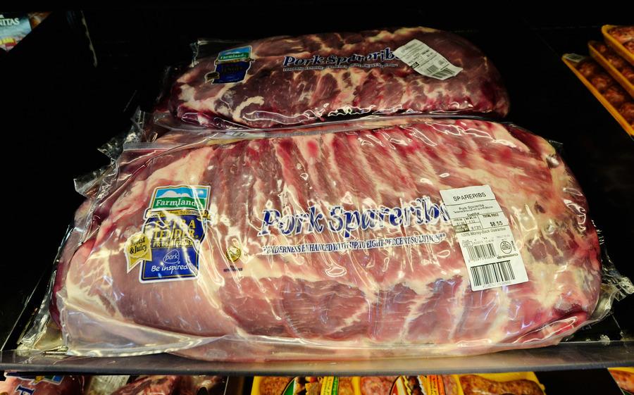 中共對美報復性關稅 中國豬肉生產商受創