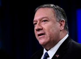 蓬佩奧擬爭取聯合國擴大對伊朗武器禁令