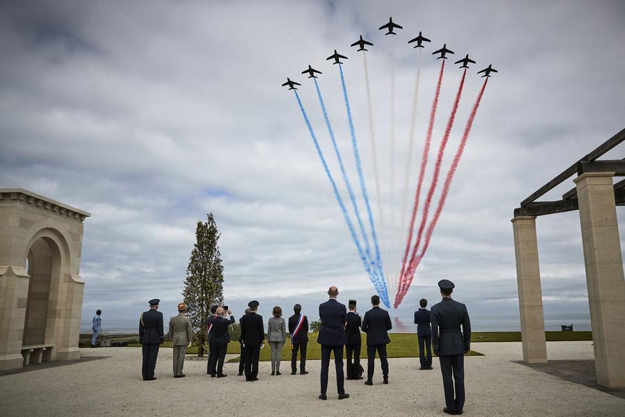 英國諾曼底紀念館開幕 老兵出席儀式(多圖)