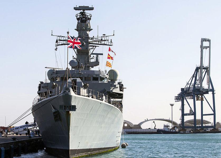 英海軍嚇退伊朗船 國防大臣讚捍衛國際法