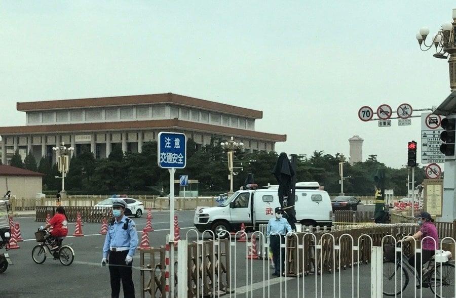 組圖:北京疫情突爆發 軍人剛解禁又隔離