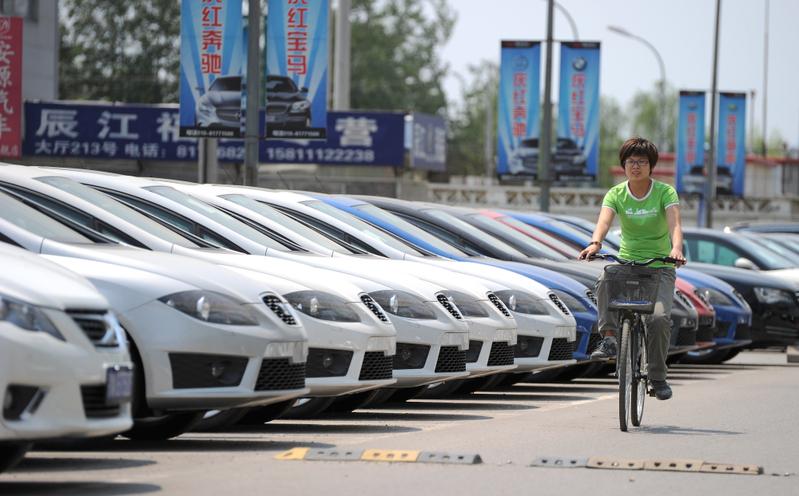 2020年以來,大陸已經發生大約20宗電動車自燃事件。圖為示意圖。(AFP)
