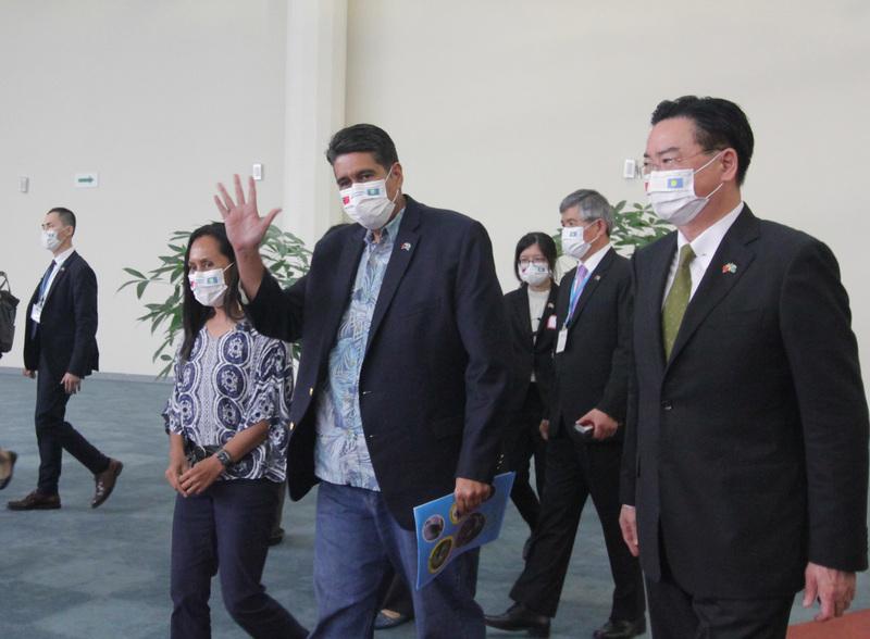亞洲首個旅行氣泡 台關帛琉啟程