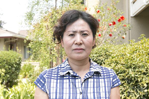 中國大陸著名維權律師高智晟的妻子耿和資料照。(馬有志/大紀元)
