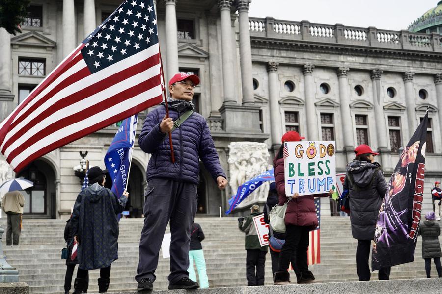 賓州選民籲州議員正視大選舞弊 挽救美國