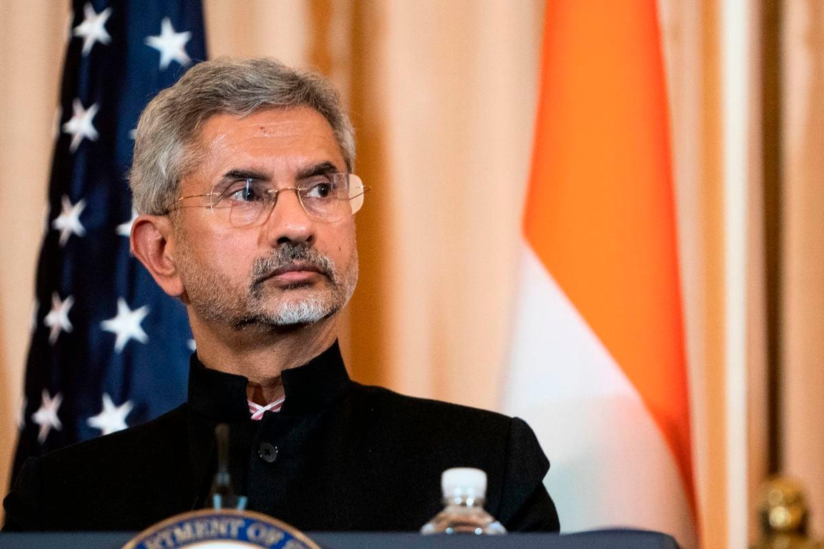 圖為印度外交部長蘇傑生。(ALEX EDELMAN/AFP via Getty Images)