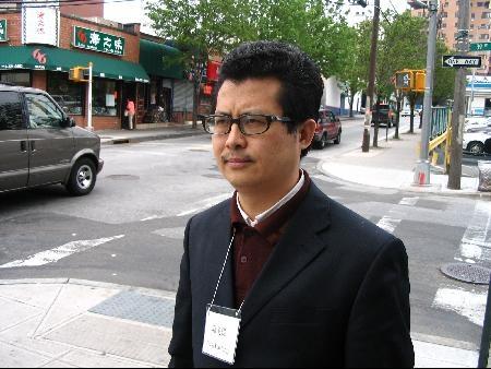 大陸知名法律維權人士郭飛雄。圖為他曾經被打後的照片。(郭飛雄友人提供,大紀元資料圖片)