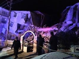6.7級地震襲土耳其 至少18死500多人傷
