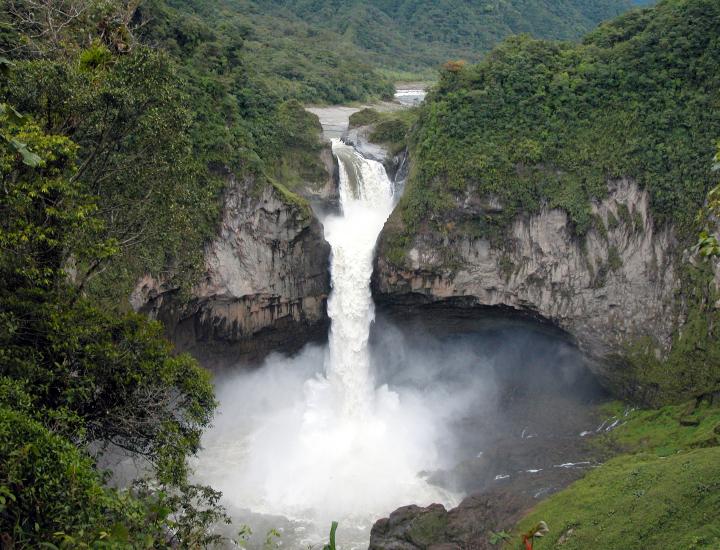 厄瓜多爾最高瀑布神秘消失 背後原因待查
