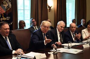 特朗普談貿易戰:仍可對3250億中國商品加稅