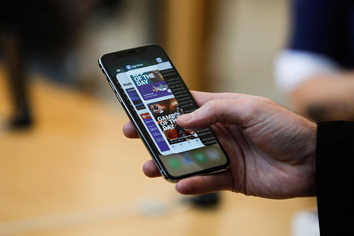 蘋果(Apple)公司在發現用戶的應用程式數據和瀏覽記錄將被發送回位於中國的服務器後,馬上刪除了蘋果商店中的頭號付費應用程式Adware Doctor。(ELIJAH NOUVELAGE/AFP/Getty Images)